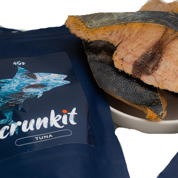 Crunkit Freeze-Dried Pet Snack-Tuna