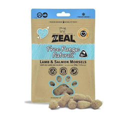 100% Natural Free Range Freeze Dried Lamb & Salmon Morsels Cat Treats