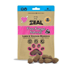 100% Natural Free Range Freeze-Dried Lamb & Venison Morsels Cat Treats