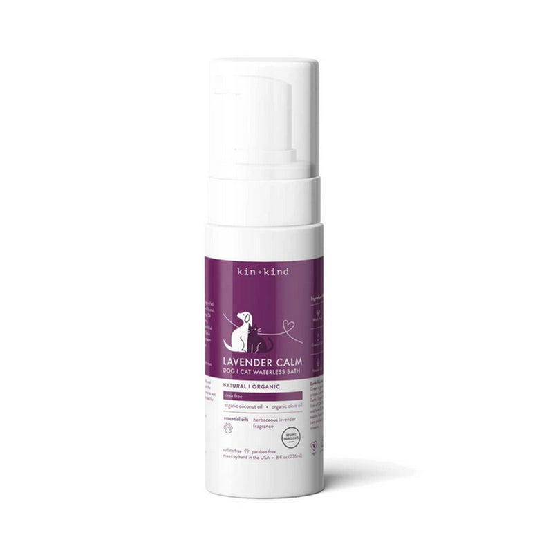 Lavender Waterless Foaming Shampoo Dog and Cat