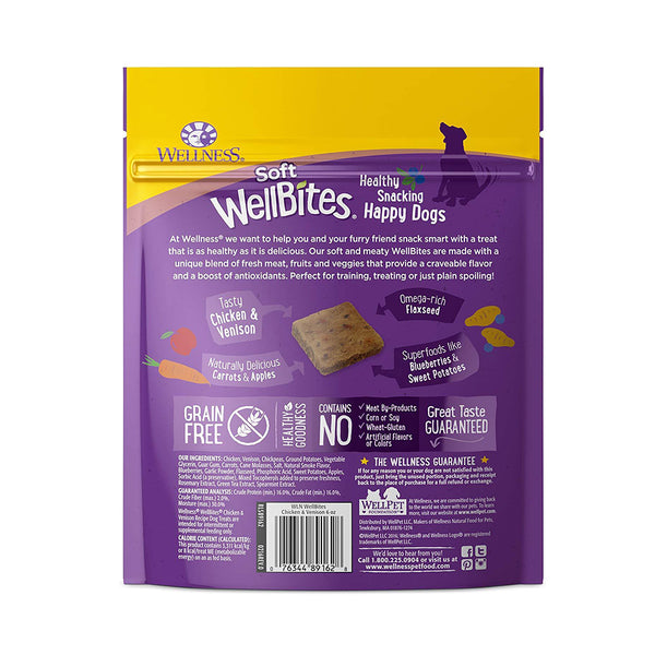 Complete Health WellBites Chicken & Venison Crunchy Dog Treats