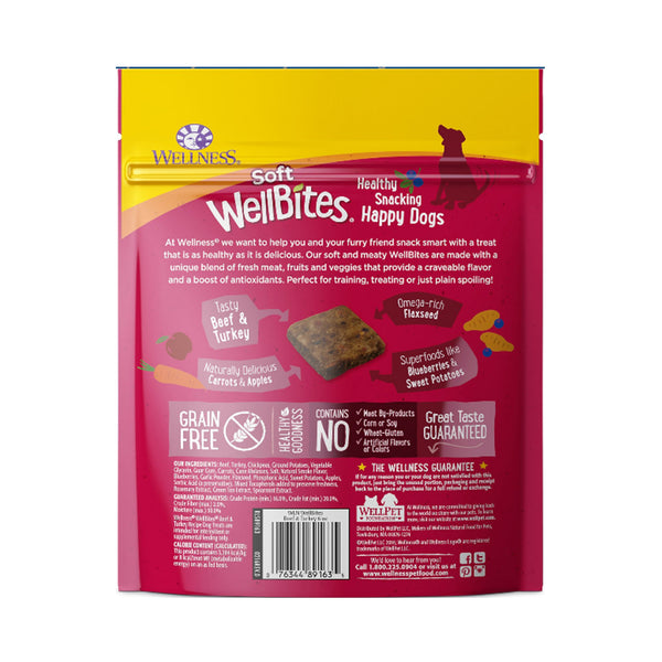 Complete Health WellBites Beef & Turkey  Soft Dog Treats