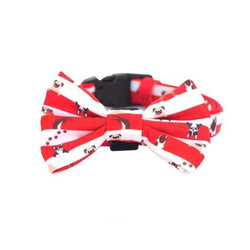 Bow Tie Collar - Peek A Crew Dog Collar