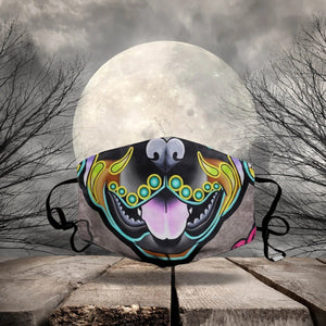 HALLOWEEN FABRIC FACE COVER AZS0001