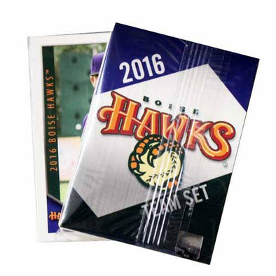 2016 Boise Hawks Team Card Set
