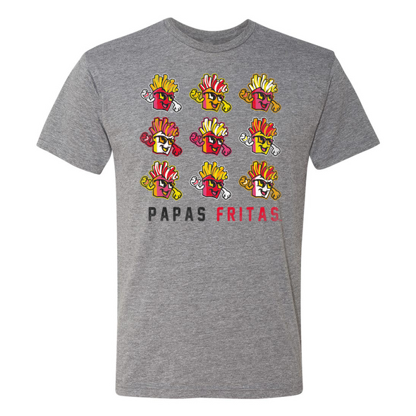 BOISE PAPAS FRITAS ANDY TEE, GREY