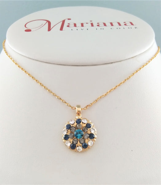 Mariana Jewelry Guardian Angel Necklace - 1114YG - LilloBellaBoutique.com