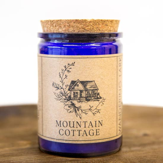Wandering Lark Mountain Cottage Soy Candle