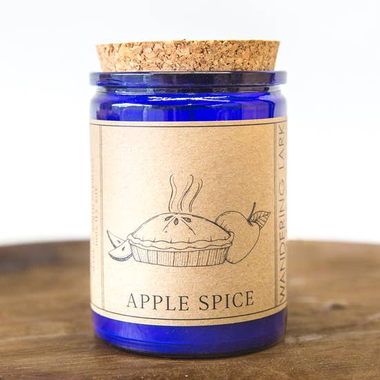 Wandering Lark Apple Spice Soy Candle