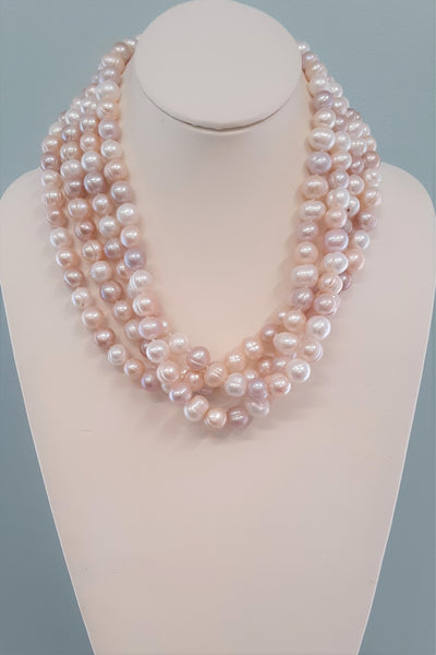 Audra Statement Pearl Necklace