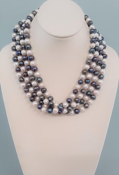 Marisa Statement Pearl Necklace