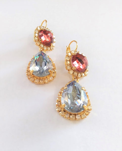 Mariana Jewelry Creme Brulee Statement Earring - 1137/2-146YG - LilloBellaBoutique.com