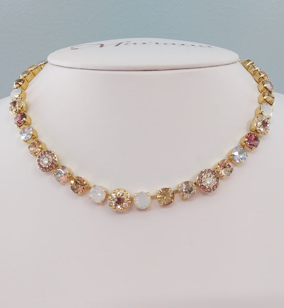 Mariana Jewelry Creme Brulee Necklace - 3479-146YG - LilloBellaBoutique.com