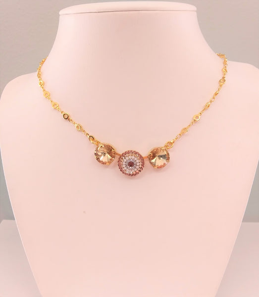 Mariana Jewelry Creme Brulee Necklace -5193