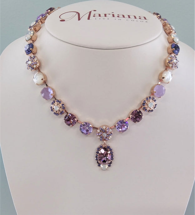 Mariana Jewelry Purple Rain Necklace 3099/1-1062RG