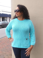Avalin One Pocket Cotton Slub Sweater