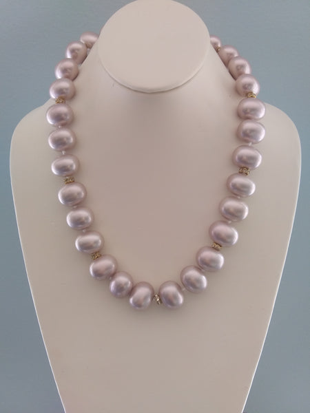 Summer In Rome Pearl Necklace