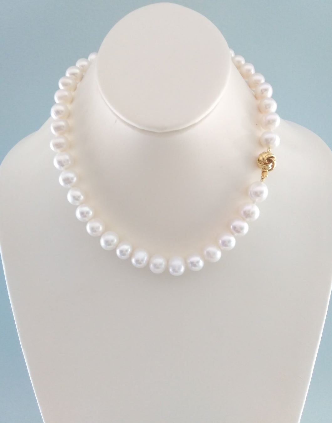 Love Knot Pearl Necklace