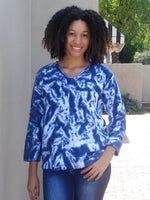 Avalin Front Seamed Tie Dye Sweater - LilloBellaBoutique.com
