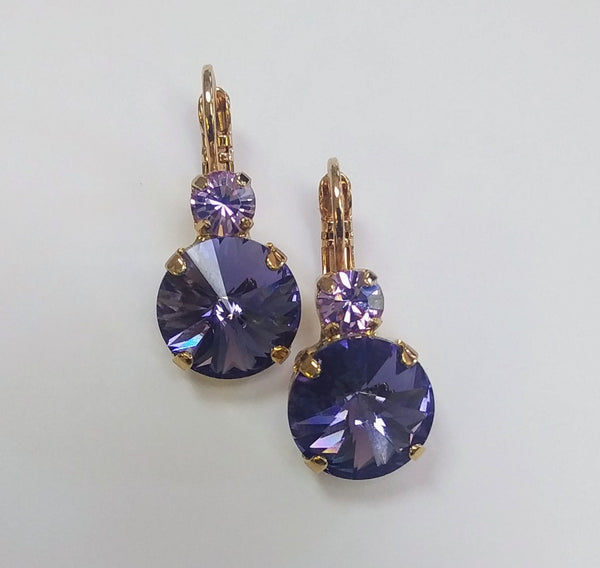 Mariana Jewelry Gold Plated Earring 1037R-371539YG - LilloBellaBoutique.com