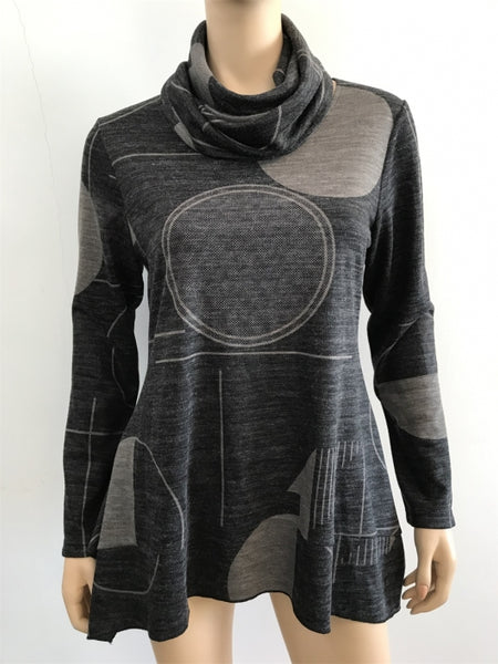 Radzoli Geometric Pattern Tunic - LilloBellaBoutique.com