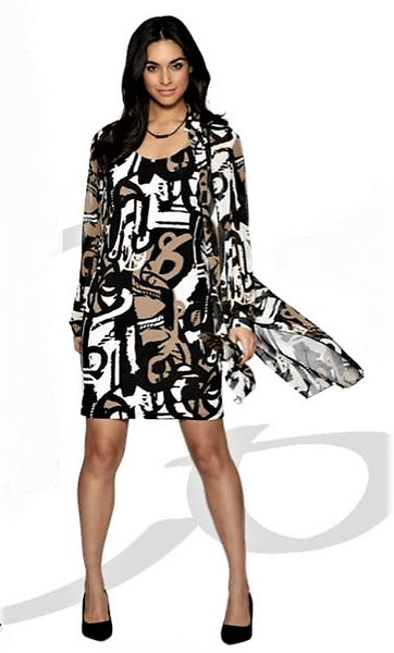 Compli K 2pcs Print Dress - LilloBellaBoutique.com