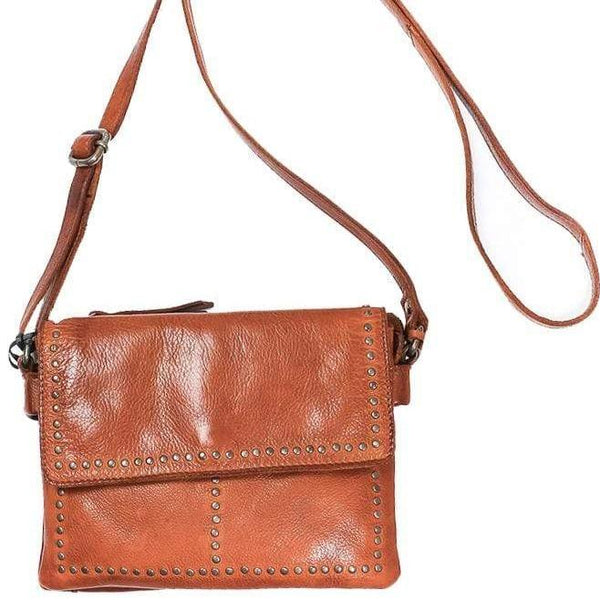 Latico Leather Cleo Crossbody Bag - Cognac - LilloBellaBoutique.com