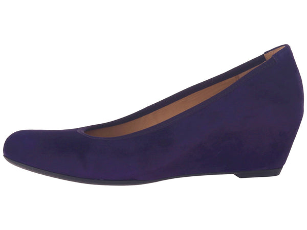 Gabor Fantasy Wedge Pump - Purple - LilloBellaBoutique.com