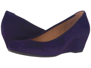 Gabor Fantasy Wedge Pump - Purple