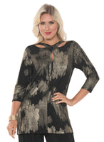 Lior Paris Criss Cross Tunic Top
