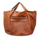 Latico Leather Colin Tote/Crossbody - Cognac - LilloBellaBoutique.com