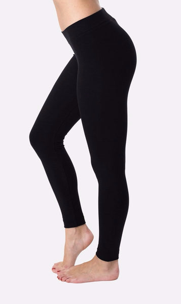 High Waisted Legging - Black - LilloBellaBoutique.com