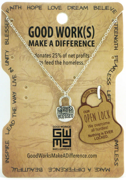 Blessing Lock Necklace