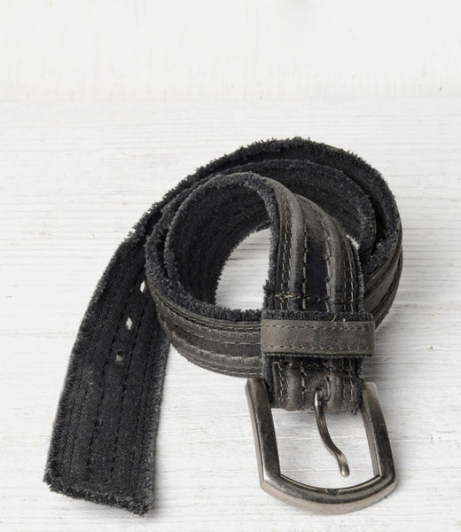 Bed Stu Capitol Belt - Black - LilloBellaBoutique.com