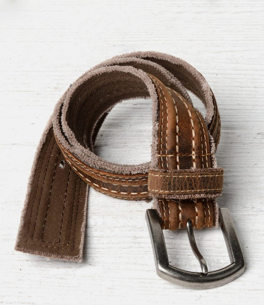 Bed Stu Capitol Belt - Tan - LilloBellaBoutique.com