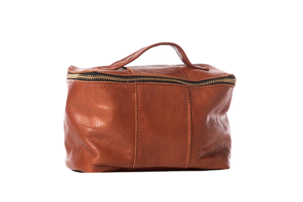 Carter Carryall Leather Dopp / Makeup Bag - LilloBellaBoutique.com