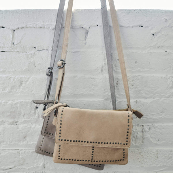 Latico Leather Cleo Crossbody Bag - Honey - LilloBellaBoutique.com