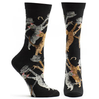 Ozone Sock Cat Conga - Black - LilloBellaBoutique.com