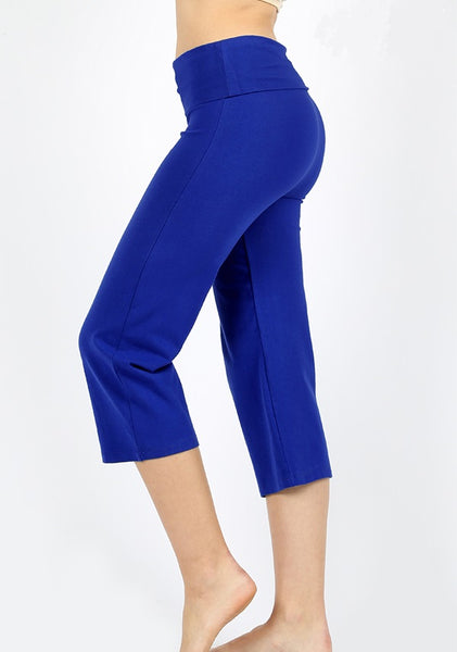 Lillie Cotton Capri Pant