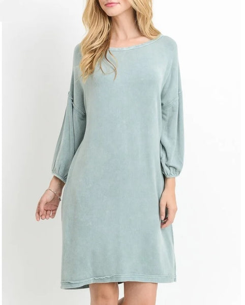 Bella Relaxed Vibe Dress - LilloBellaBoutique.com
