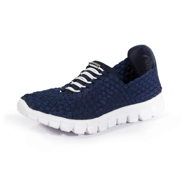 Zee Alexis Danielle Pull On Sneaker - Navy - LilloBellaBoutique.com