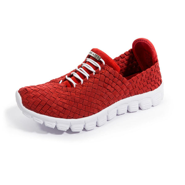 Zee Alexis Danielle Pull On Sneaker - Red