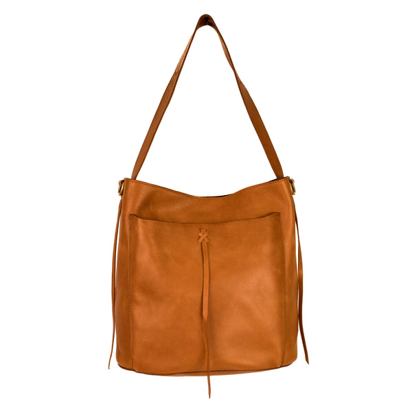 Farrah Leather Hobo Bag - LilloBellaBoutique.com