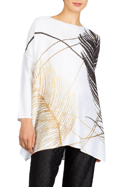 Berek - Feather Foil Top - LilloBellaBoutique.com