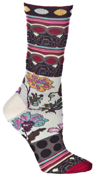 Ozone Socks Fille - Black - LilloBellaBoutique.com