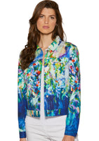 Claire Desjardins Wearable Art-  Full Bloom Jacket - LilloBellaBoutique.com