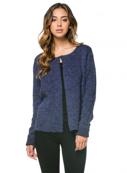 Ellesworth Open Front Cardigan - Navy