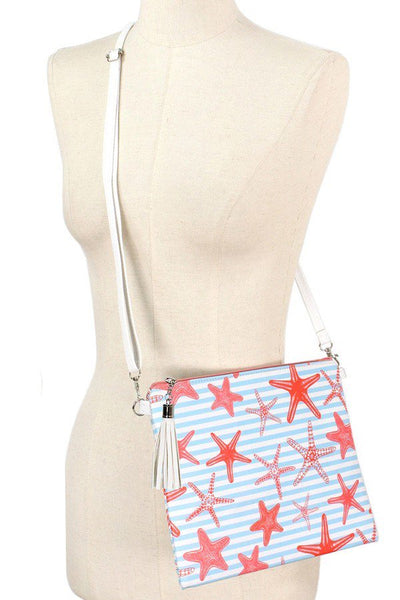 Spring Break Cross Body Bag - Star Fish
