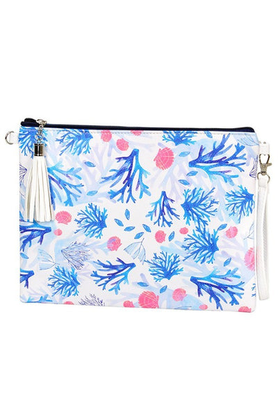 Spring Break Cross body Bag - Coral Reef