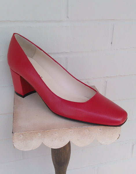 Jon Josef Tender Pump - Red - LilloBellaBoutique.com